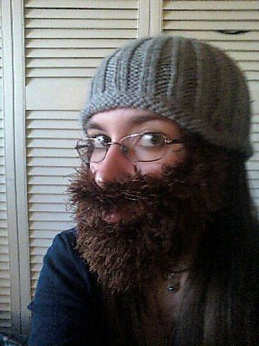 Ravelry A Fun Knitted Beard Pattern And I Know Just The Goofball