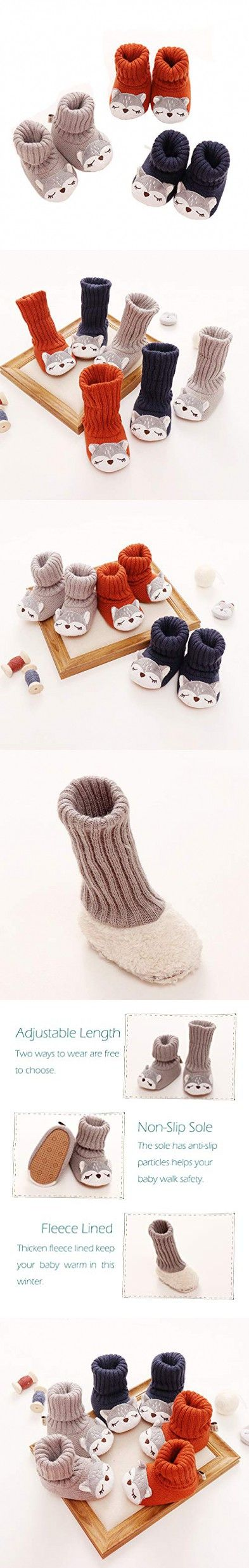 Xinqiao Unisex-Baby Soft Shoe Anti-Slip Infant Newborn Sneakers for Boys Girls