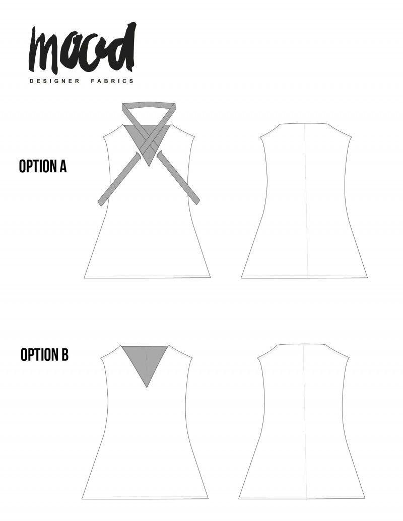 The Molina Tunic - Free Sewing Pattern - Mood Sewciety | Mood•DIY