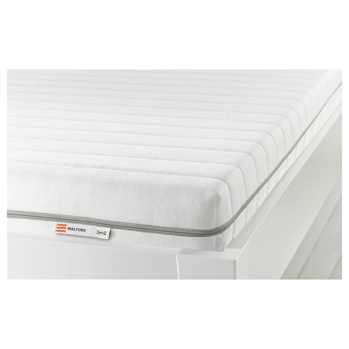 Malfors Medium Firm White Foam Mattress Standard Single Ikea Schaummatratze Matratze Ikea