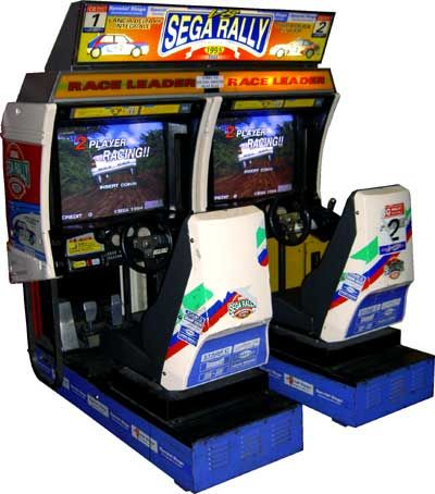 borne arcade occasion sega rally
