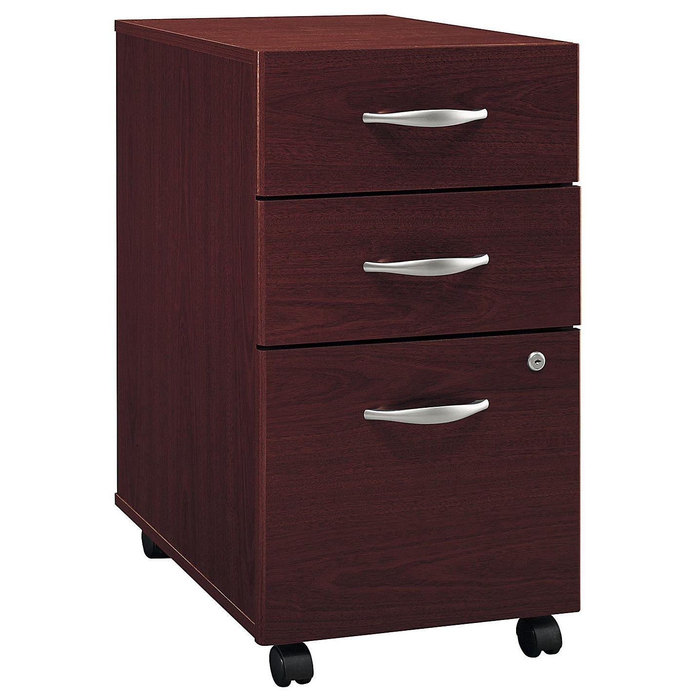 Hon 3 Drawer Mobile File Cabinet