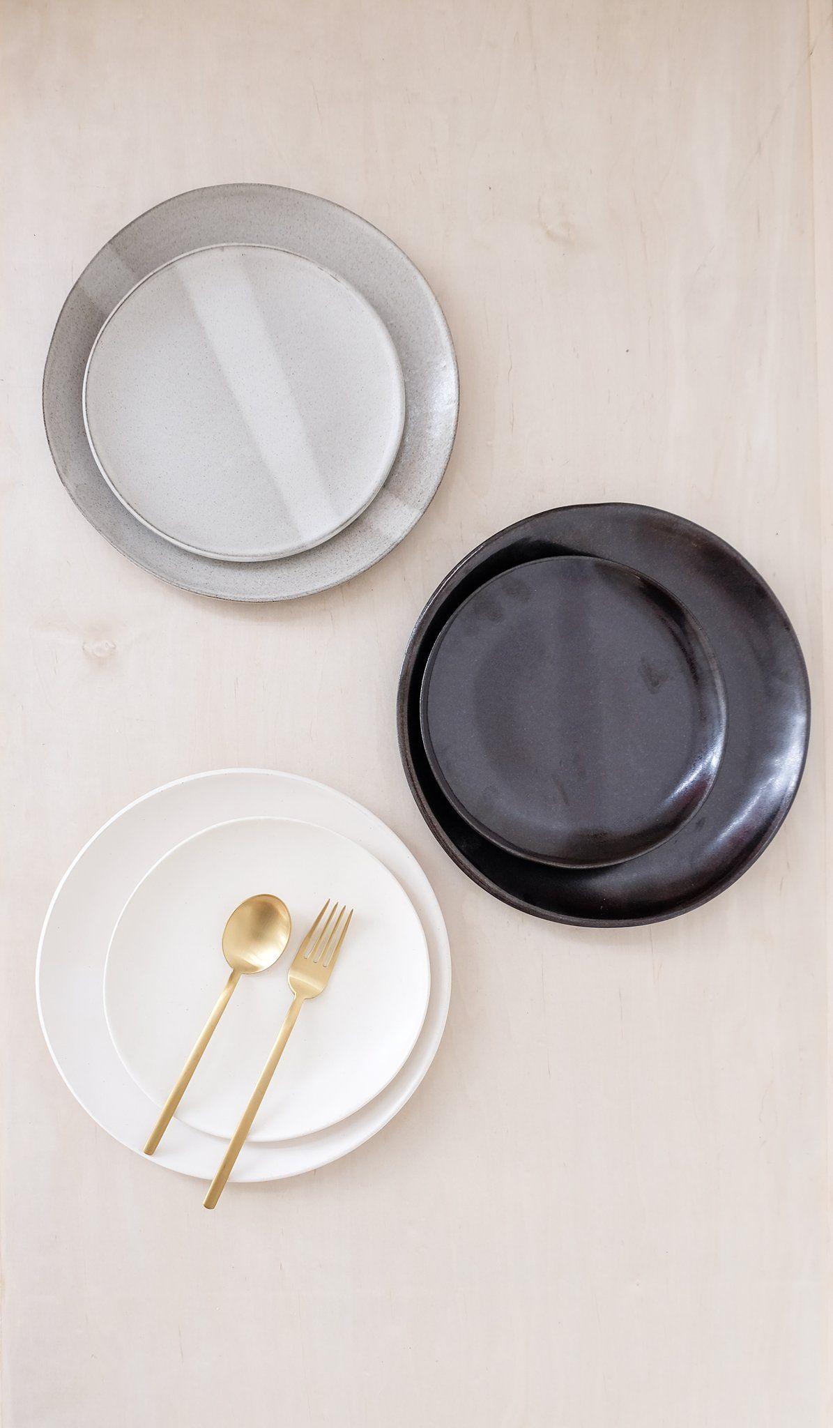 Eric Bonnin Ceramic Plates & Eric Bonnin Ceramic Plates: Set of 4 | Ceramic plates Microwave ...