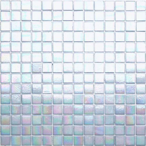 Walk Of Fame White Iridescent Gl Mosaic Tile Product Code From The Kaleidoscope Colorglitz Series Sold By S