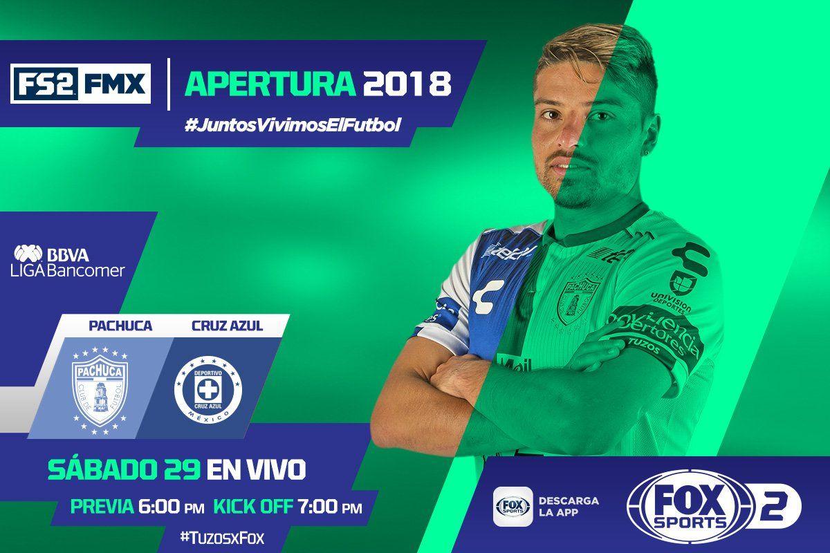 En que canal juega Pachuca vs Cruz Azul 2018 Liga MX (con