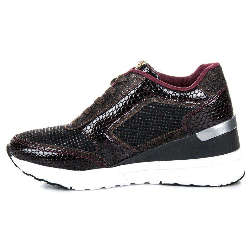 Kylie Buty Sportowe Na Koturnie Wielokolorowe Shoes Slip On Sneaker Sneakers