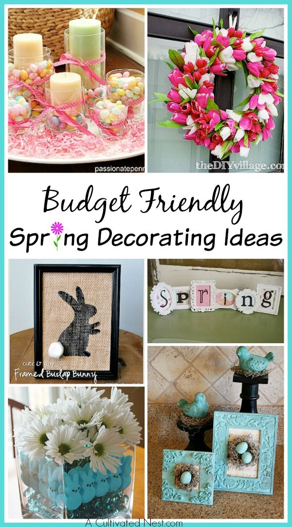 10 Adorable Diy Dollar Store Spring Crafts A Cultivated Nest Spring Diy Spring Decor Diy Diy Dollar Store Crafts