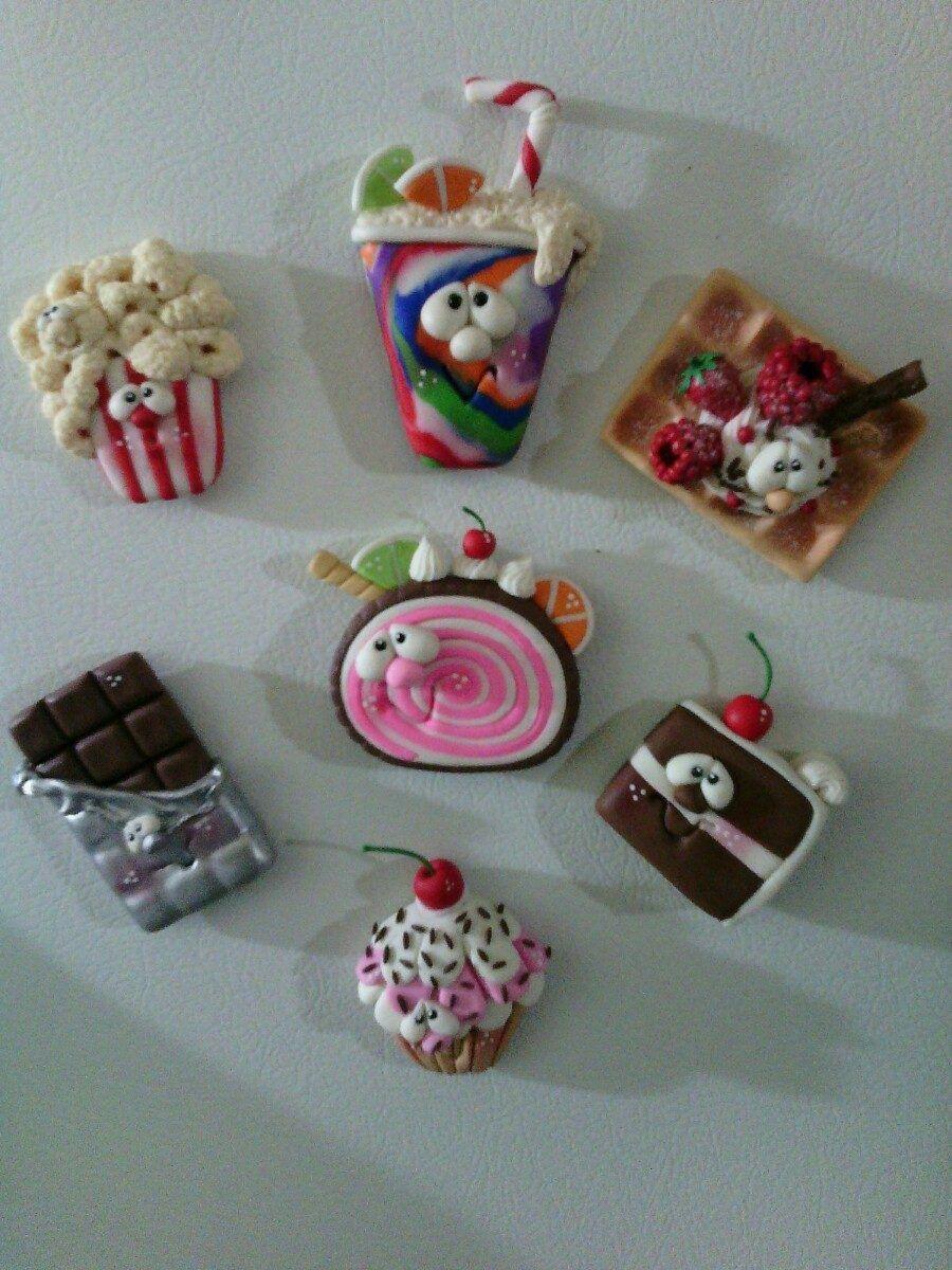 Pin de Luciana Ratalino en IMANES (con imágenes) | Manualidades, Imanes para  heladera, Frascos decorados