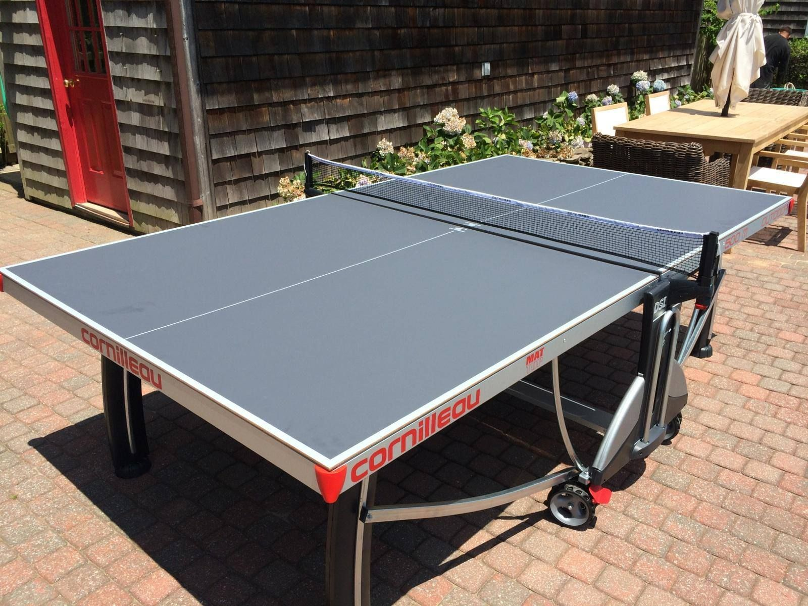 Cornilleau 500m outdoor table tennis table southhampton ny for the home pinterest - Table cornilleau 500m outdoor ...