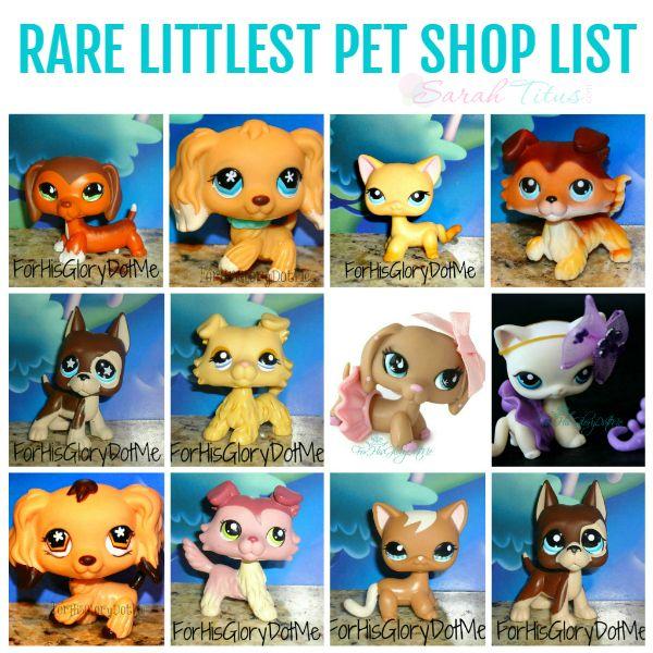 Most Valuable Rare Littlest Pet Shop Pets List Little Pet Shop