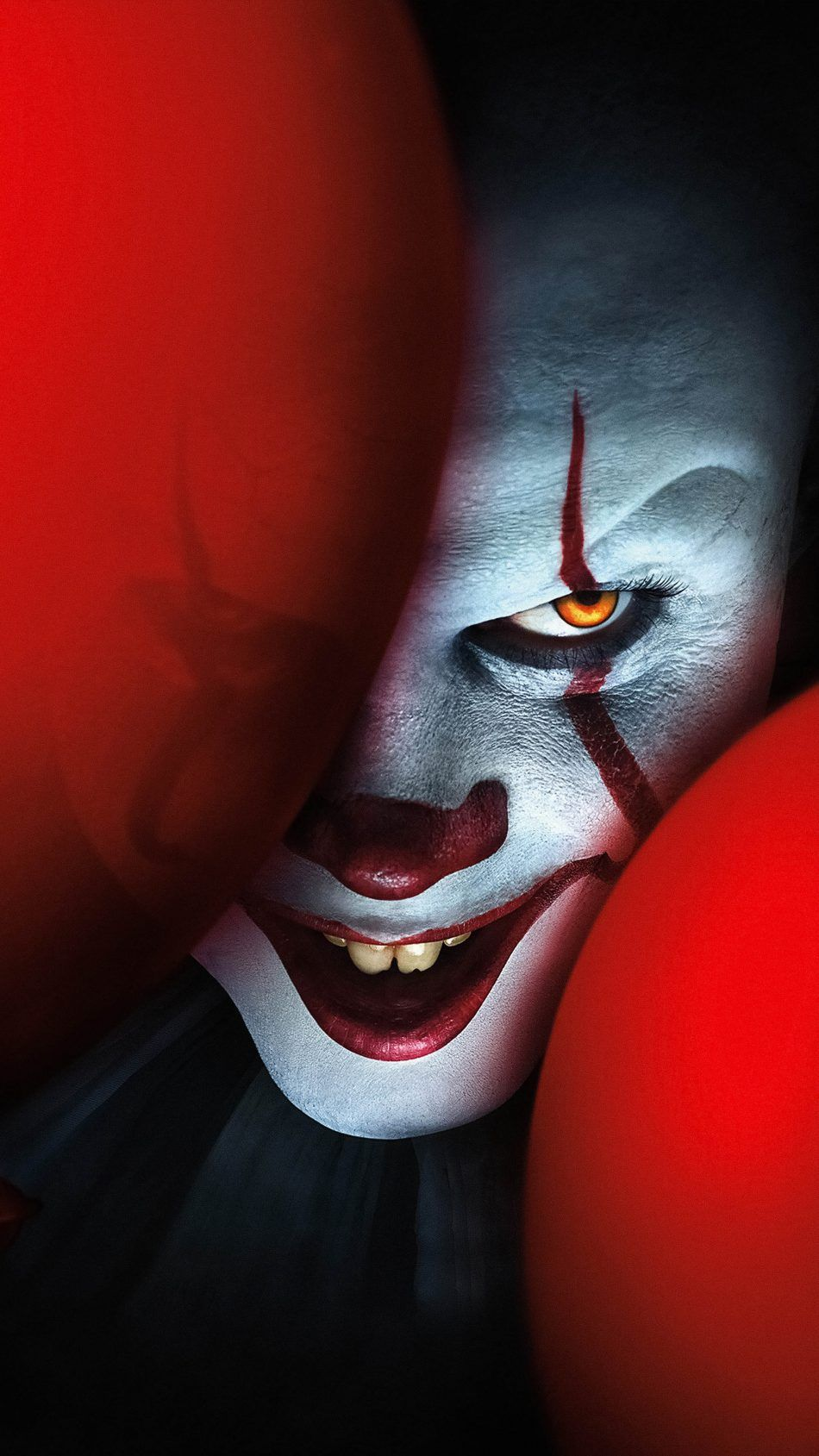 The Clown Pennywise It Chapter Two 2019 Joker Hd Wallpaper Pennywise The Clown Scary Wallpaper