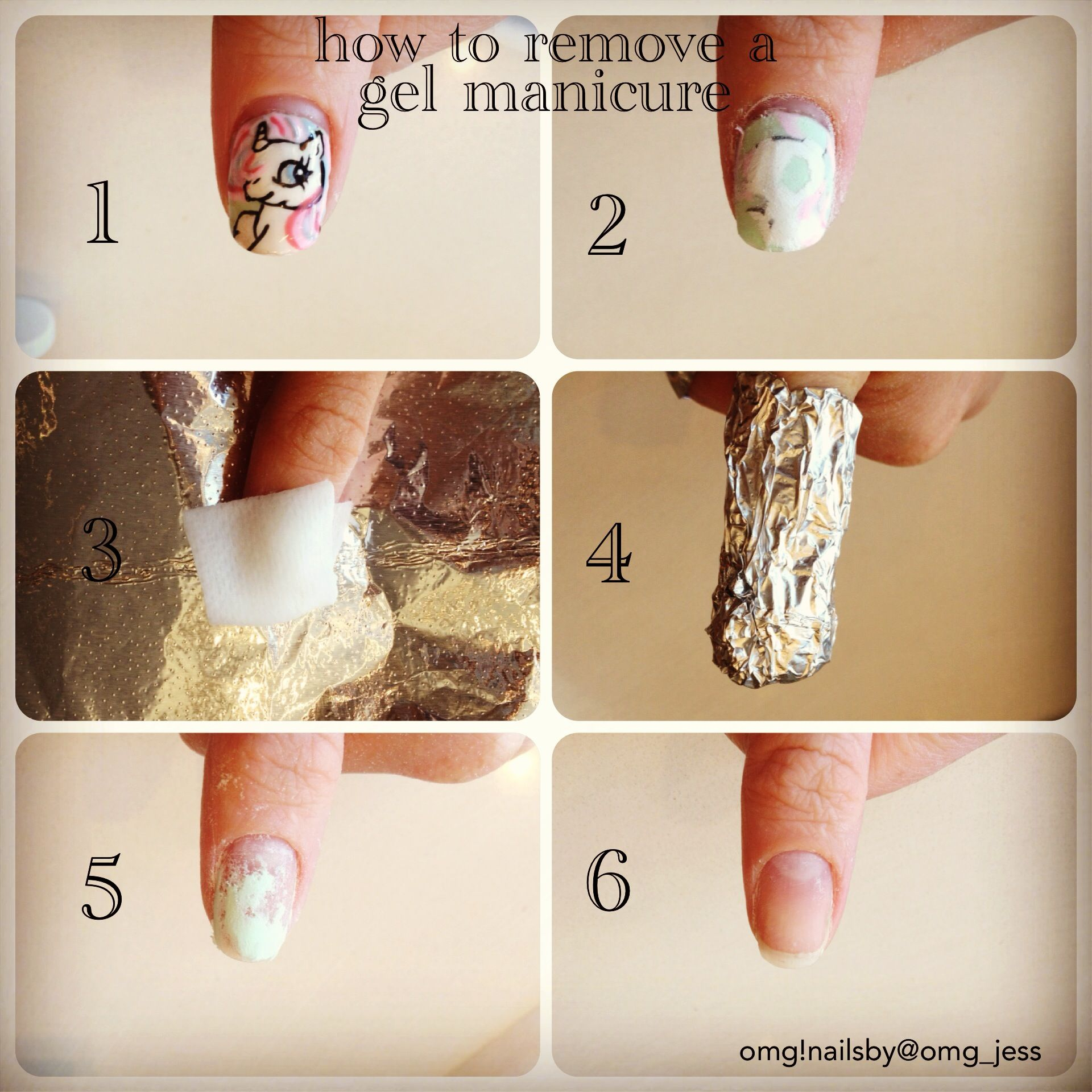 How to remove gels correctly!