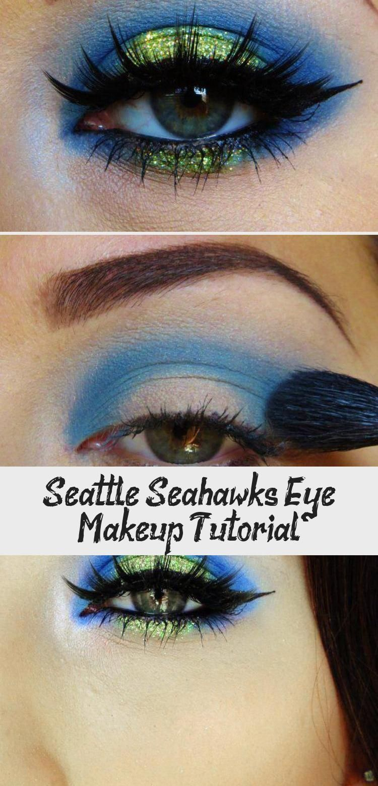 Seattle Seahawks Eye Makeup Tutorial Pinokyo Seattle