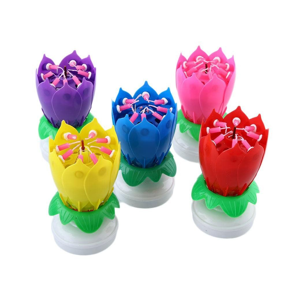 Magic Flower Birthday Candles I Need This In My Life Chefs Honor