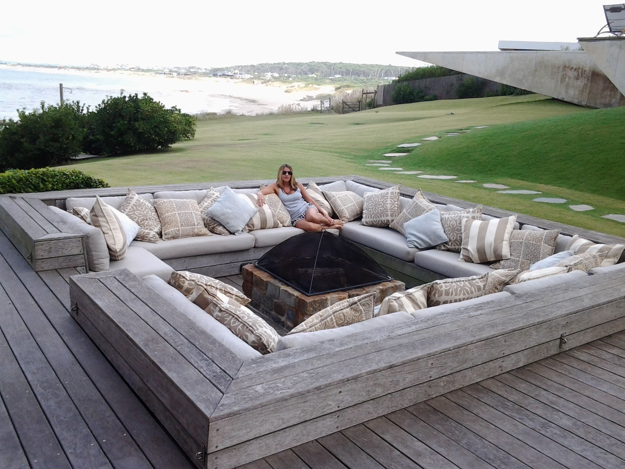 Photo of 8 Stunning Unique Ideas: Galvanized Fire Pit Ring rectangular fire pit water fea…,  #fea #F…
