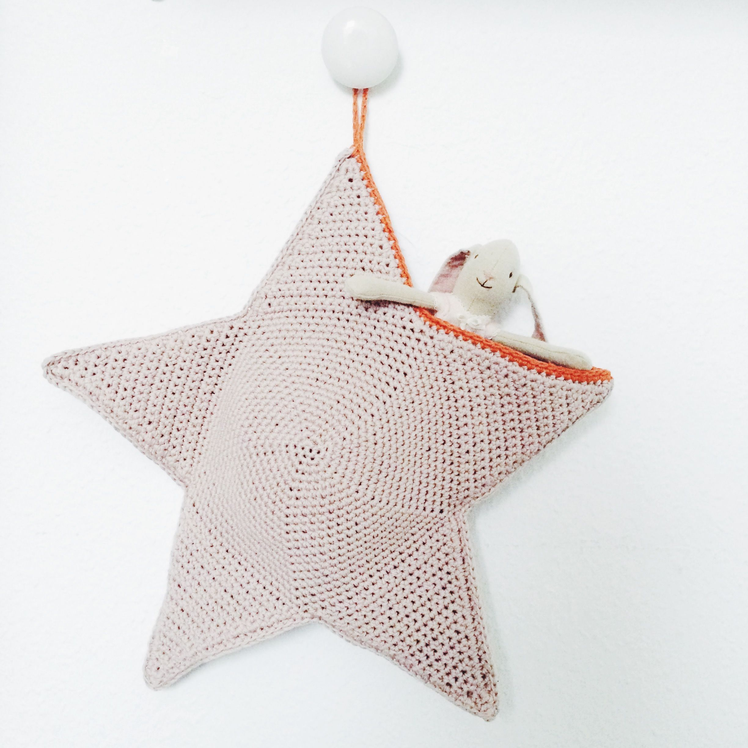 Free Star Pocket Pattern | Crochet | Pinterest | Ganchillo, Navidad ...