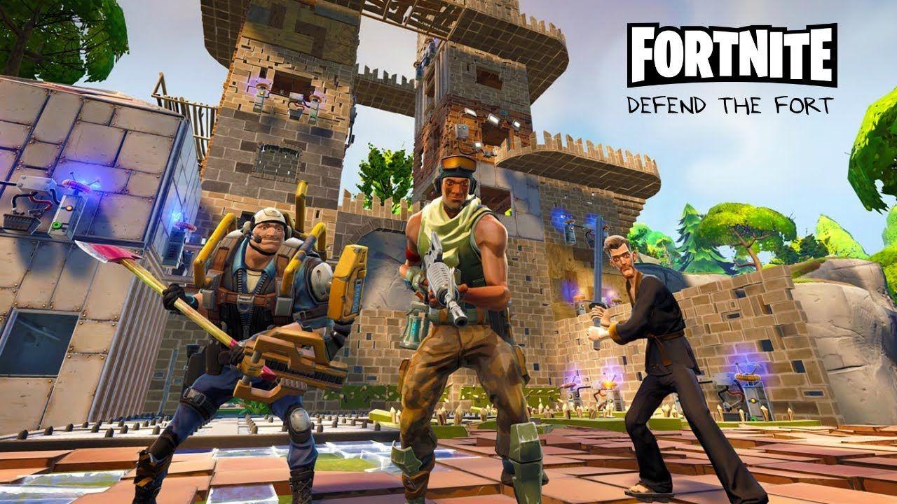 fortnite gameplay 2016