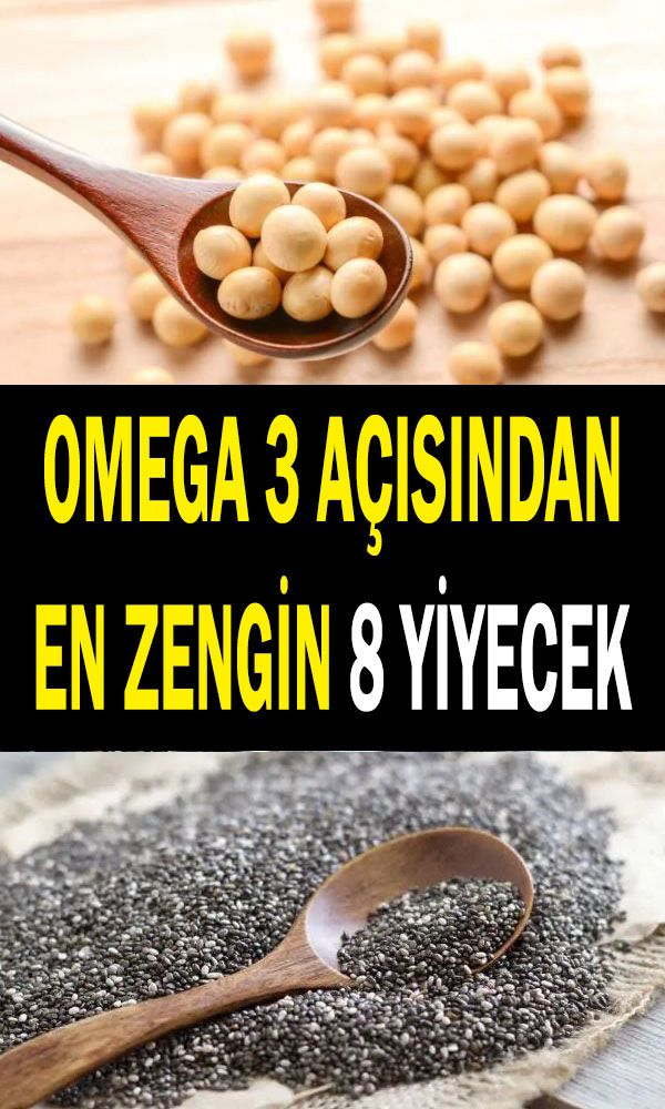 Omega 3 Yağ Asitleri Açısından En Zengin 8 Yiyecek #vitamins