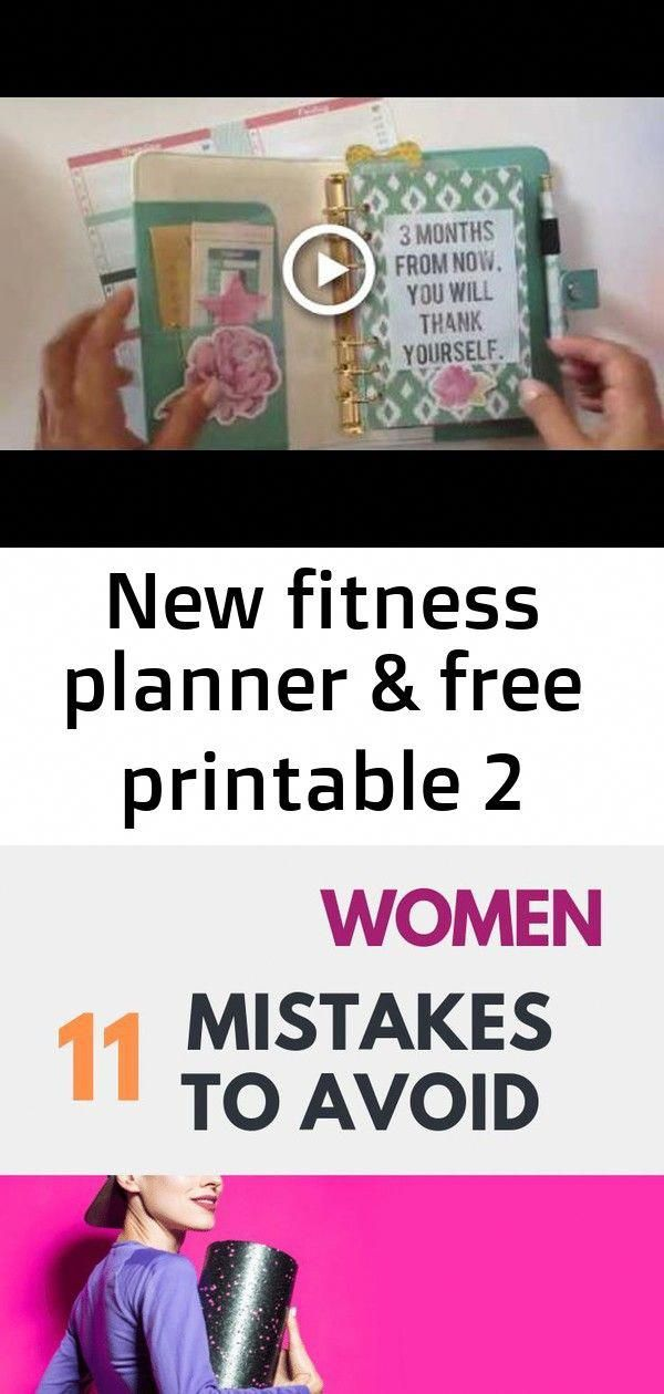 New Fitness Planner & Free Printable #fitness Keto for Women: 11 Mistakes to Avoid | How to Avoid Co...