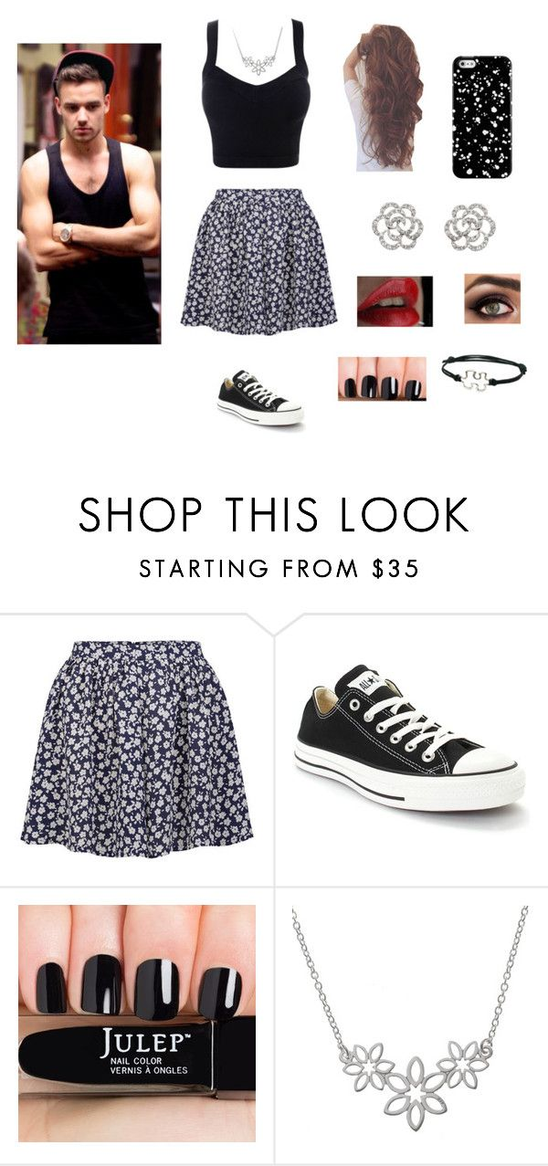"""Day with Liam"" by directionerand5sosfan ❤ liked on Polyvore featuring Neon Rose, Converse, Finesse and Payne"
