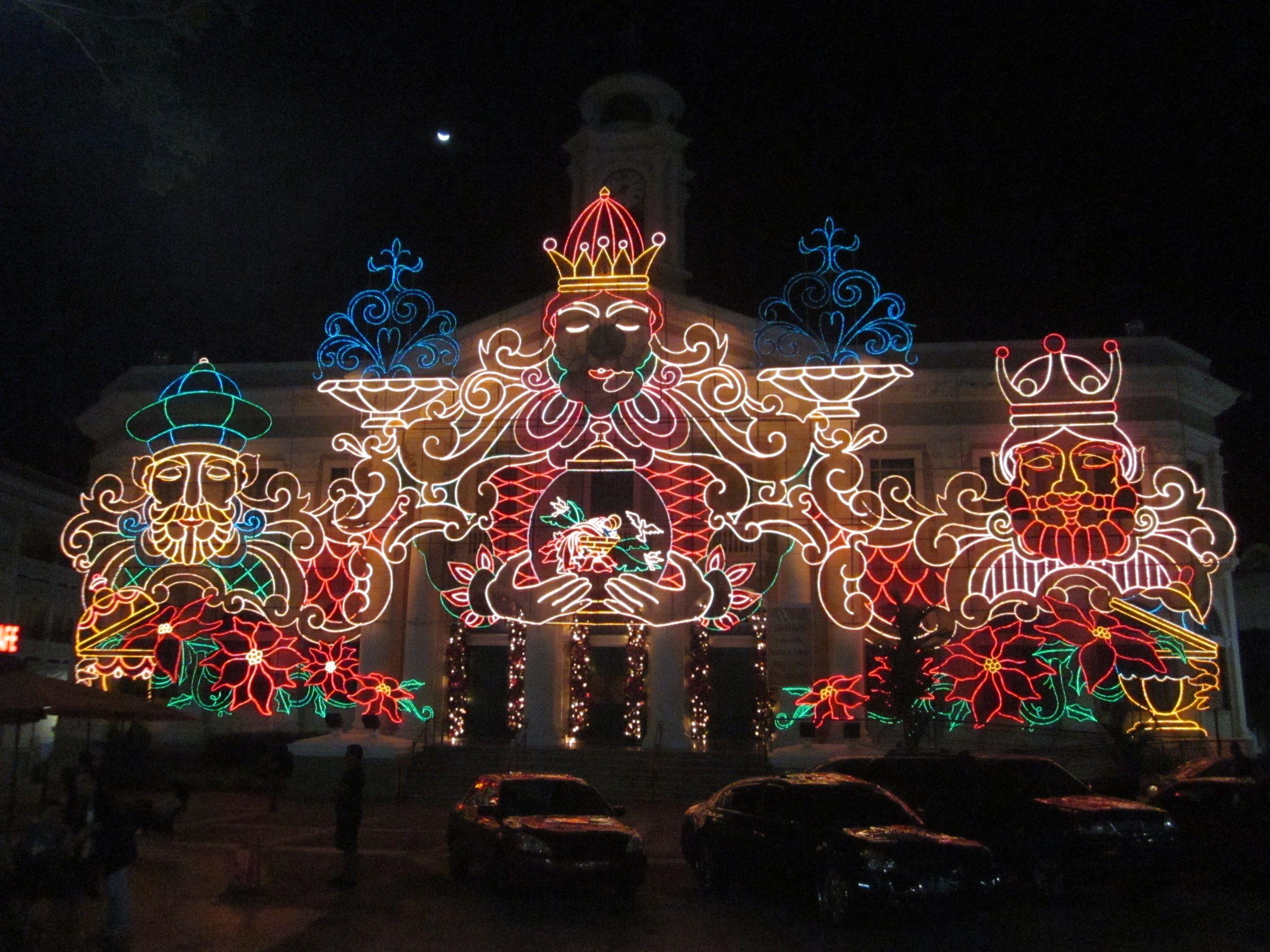 Alcaldia de noche / Town Hall at night