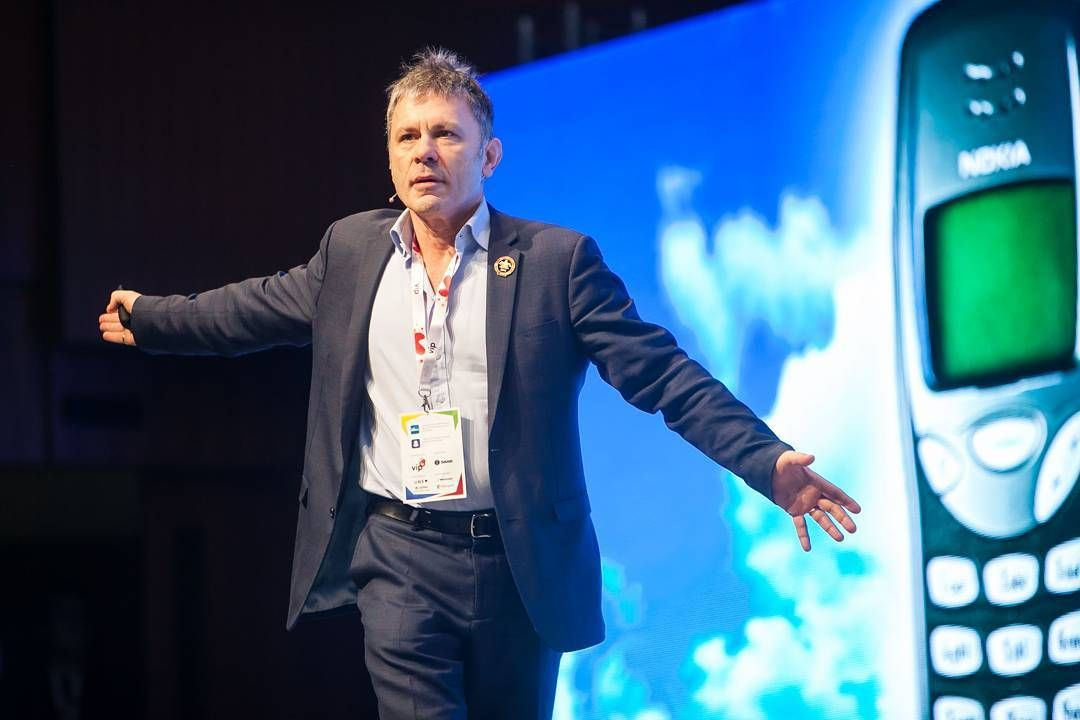 #BruceDickinson #IronMaiden's singer was the star of the #Ebanwu2016. Hop to our website and check what he said about #startups and #business. More: http://www.tweaktown.com