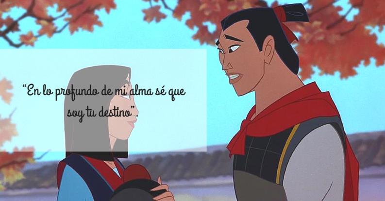 Disney quotes, Disney love, Frases, Mulan, Qoutes about love, Tumblr love - Las 11 frases de amor de Disney que vale la pena volver a recordar -  #Disneyquotes