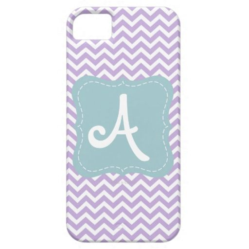Personalized Chevron Monogram iPhone 5/5S Case by Amber Galore Design #chevron #monogram #iphone