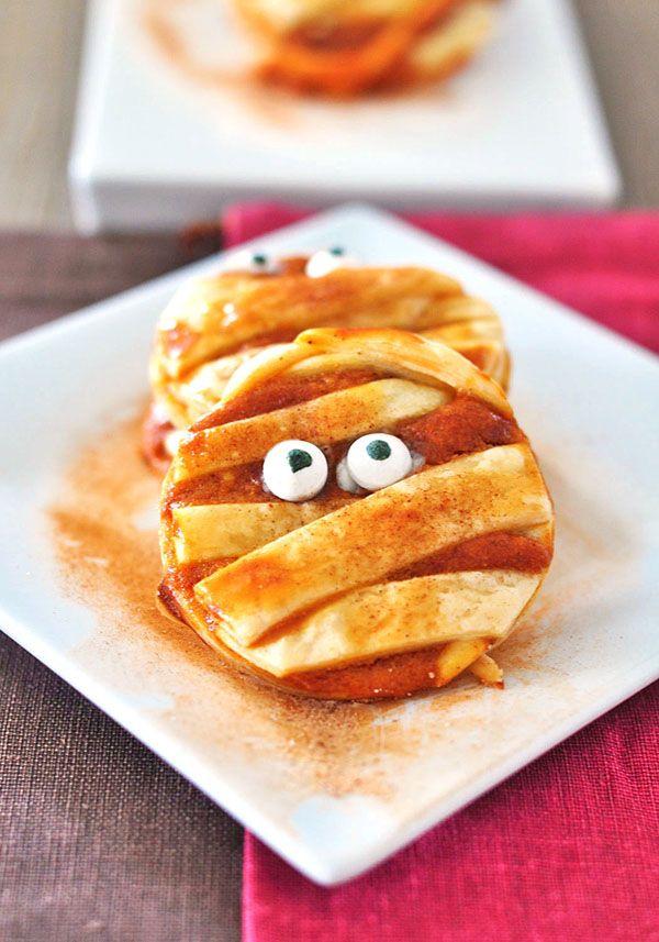50 Kid-Friendly Halloween Food Ideas | Mummy cookies ...