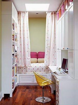 Dormitorios juveniles en espacios peque os muebles cama - Muebles para espacios reducidos ...