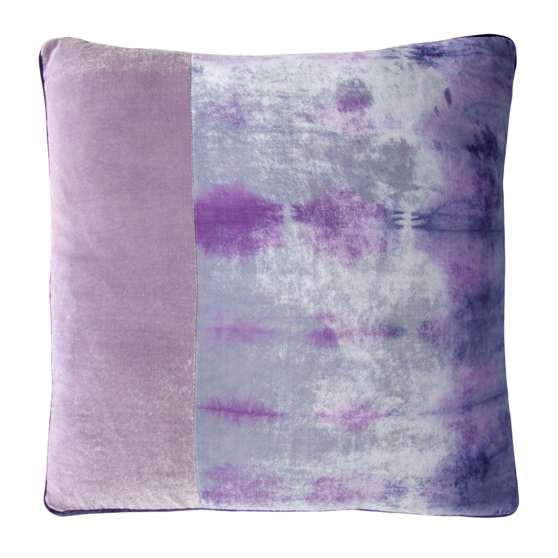 Kevin O'Brien Studio Color Block Velvet Decorative Pillow