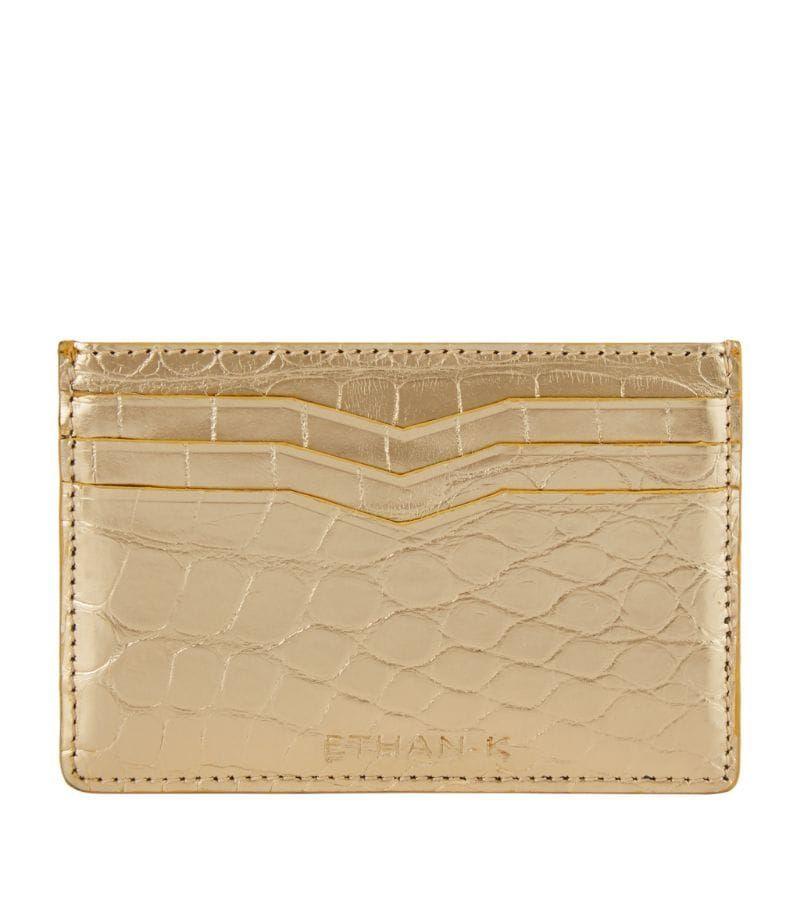 Ethan k crocodile leather card holder ad affiliate