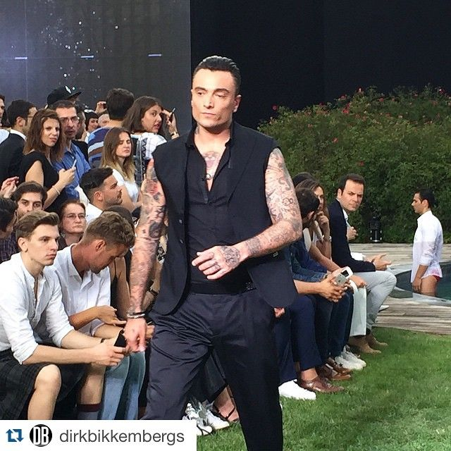 #GuèPequeno Guè Pequeno: #Repost @dirkbikkembergs ・・・ Our guest star come out on the top! @therealgue #DirkBikkembergs show! #DirkFashionShow #WetWhitDirk #MFW #DBss16 #MFW #fashion #sportcouture #fashionshow