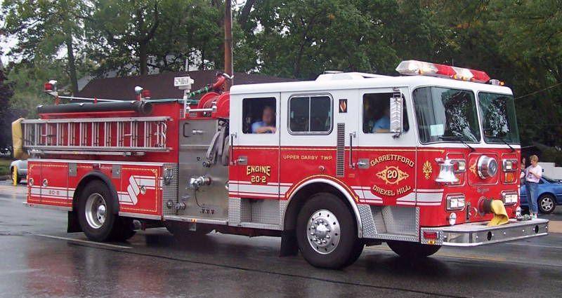 Garrettford Drexel Hill Fire Co Upper Darby Twp Pa Engine 20 2