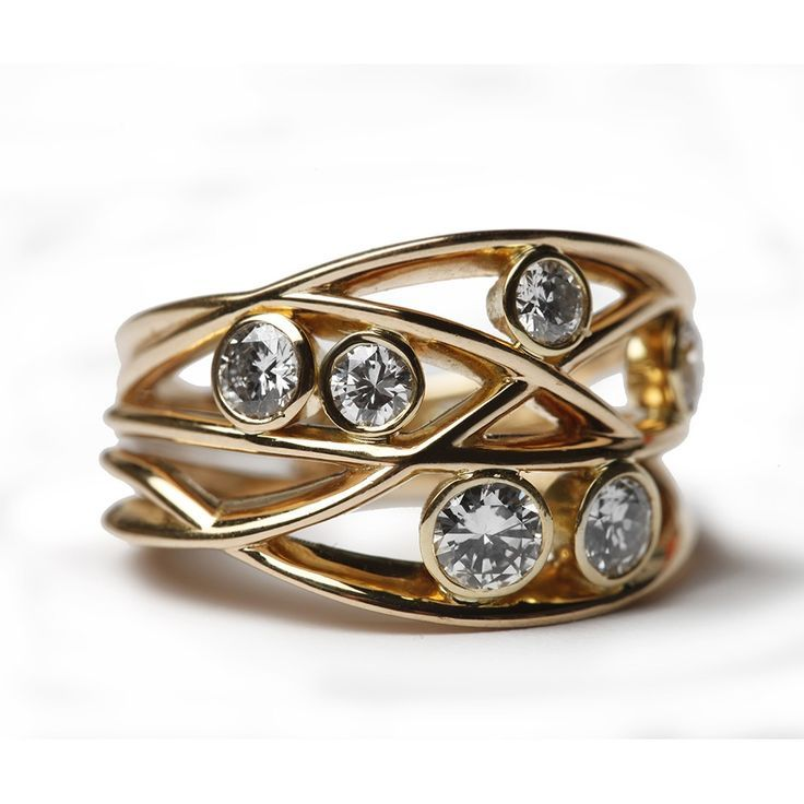 diamond woven ring bespoke jewellery fine jewelry designers buy jewellery jewelry events - Ring Design Ideas