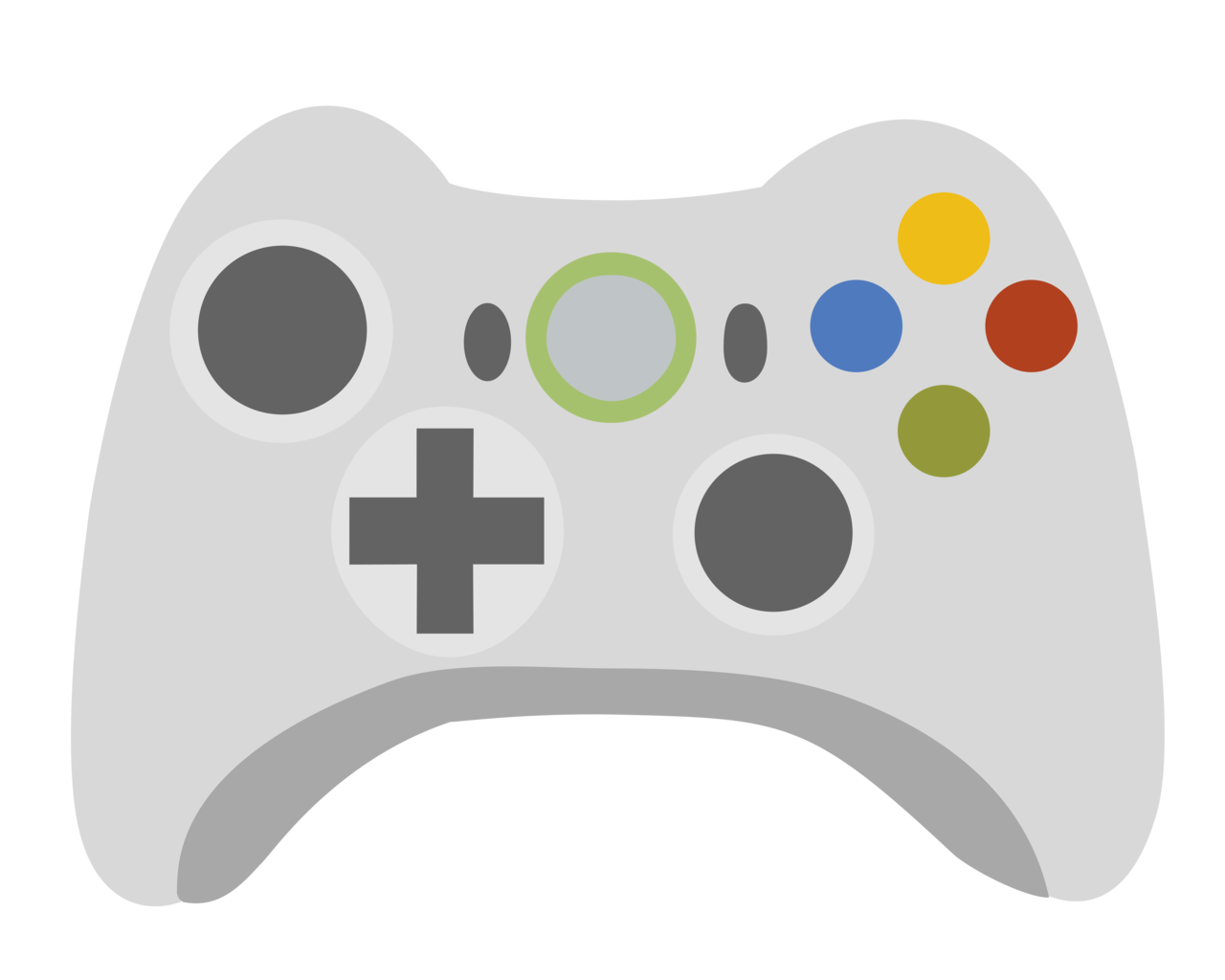 38+ Black video game controller clipart info