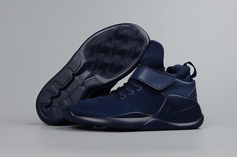5731478291fa7 Men s Women s Nike Kwazi High Top Running Shoes Deep Blue