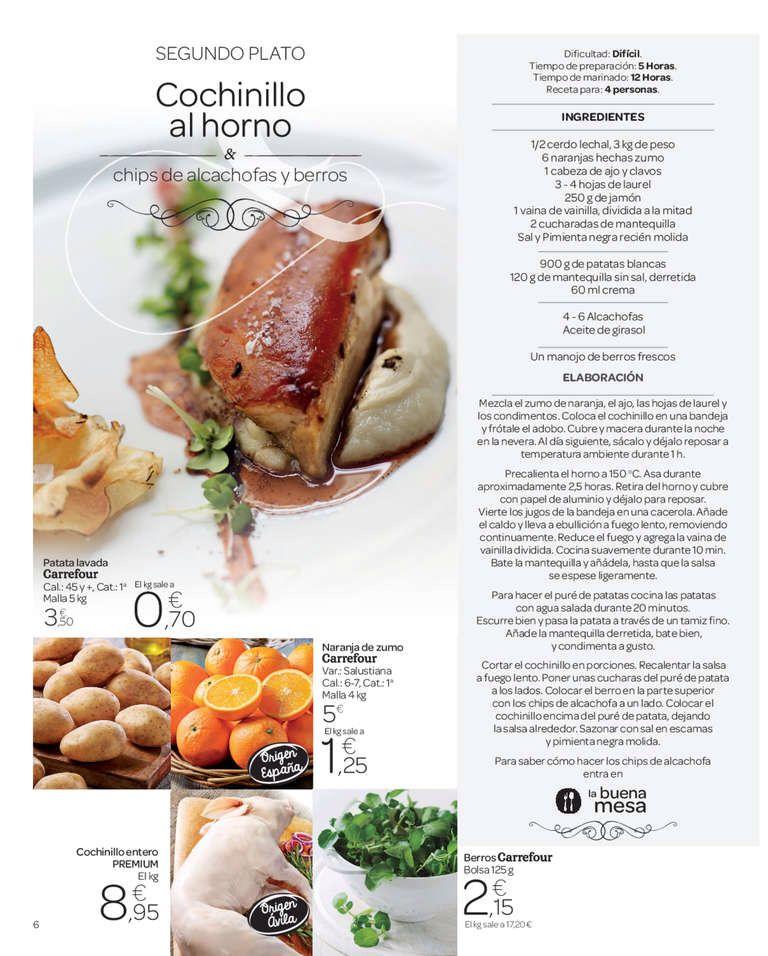 Carrefour Ideas Gourmet Recetas De Comida Comida Segundos Platos