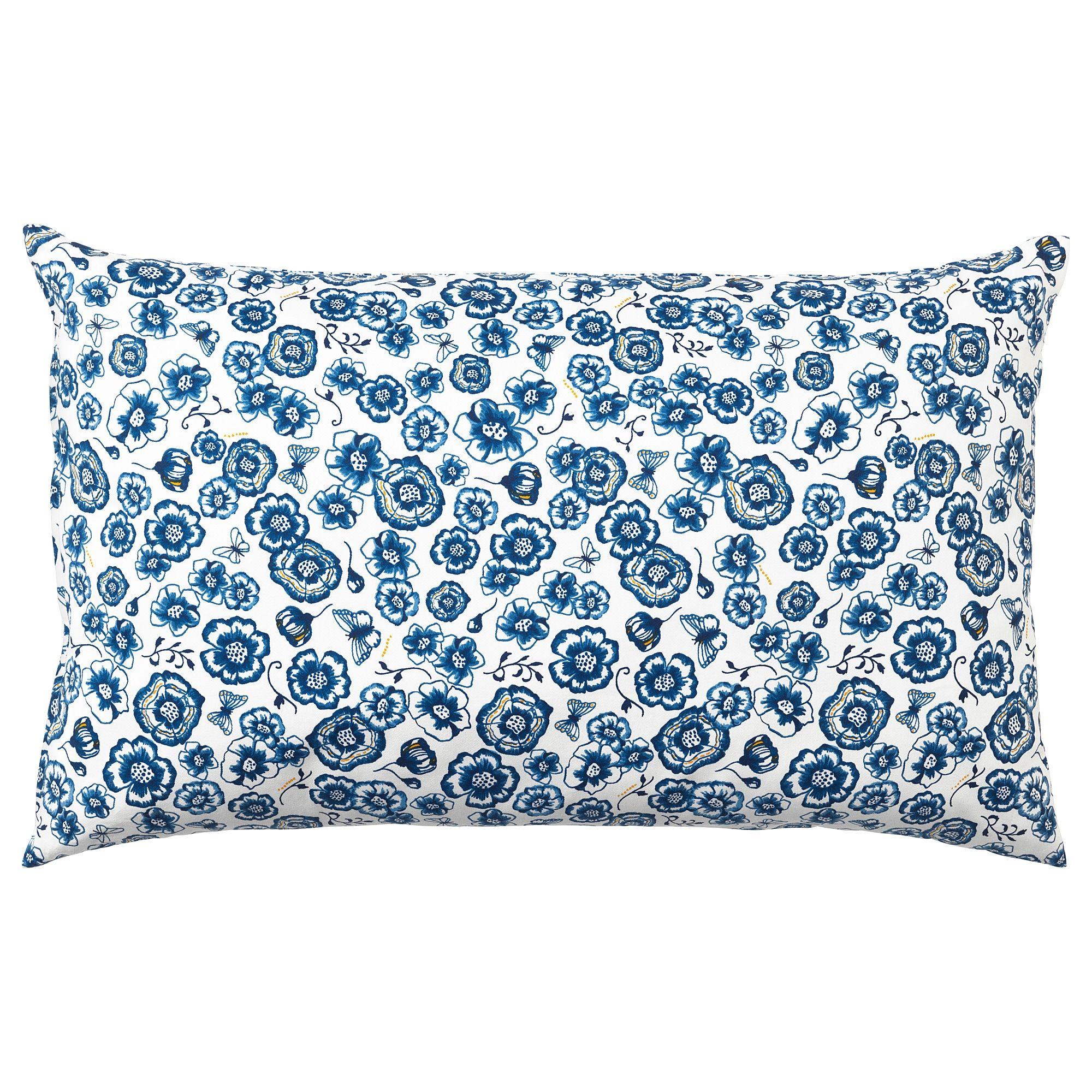 Kissen Sanglarka Blume Blau Weiss In 2019 Products Kissen