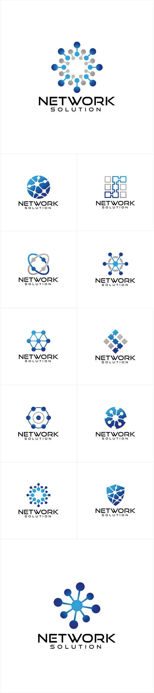 vectors network logo design logo pinterest logos logo ideas