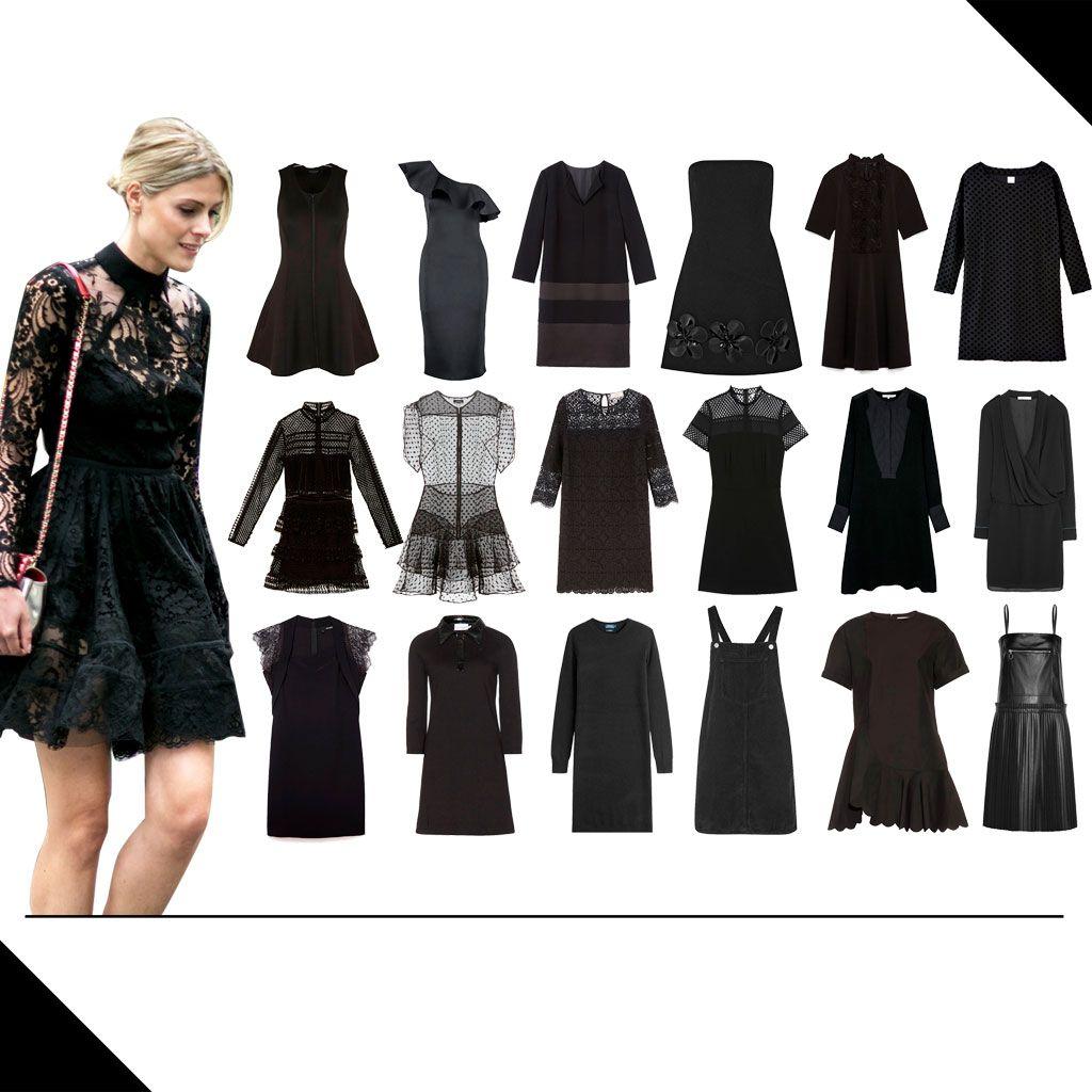 30 jolies robes noires que l'on rêve d'avoir