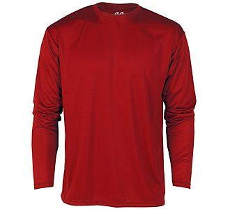 Men S A4 Cooling Performance Long Sleeve T Shirt Scheels Long