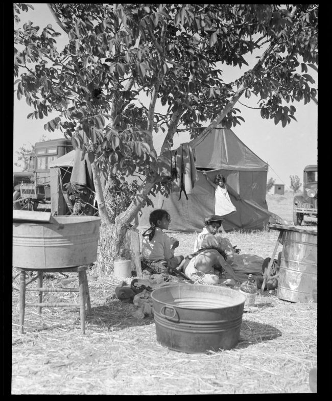 In the Camps Archives Dorothea Lange Digital Archive