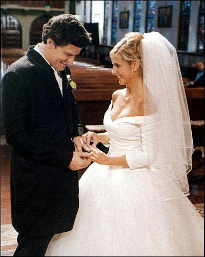 Buffy And Angel Promo Picture Episode The Prom