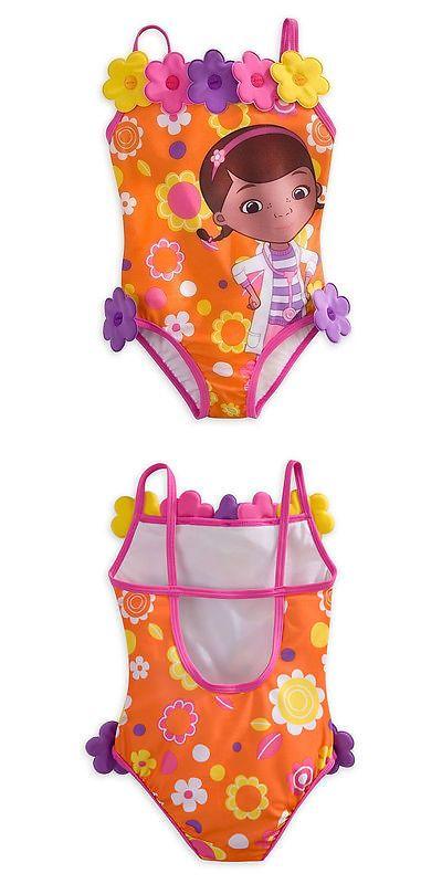 ab7c42833e Swimwear 51567: Disney Store Doc Mcstuffins Girl Swimsuit Bathing Suit Size  5 6 7 8 -> BUY IT NOW ONLY: $39.99 on eBay!