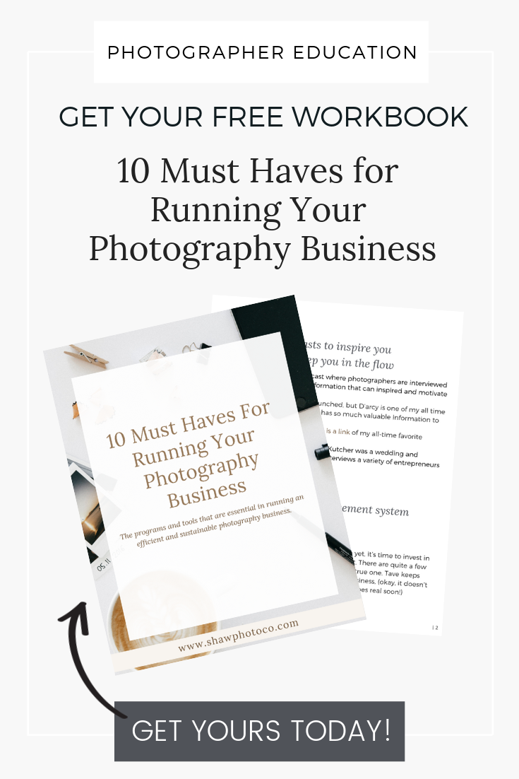 Freebies For Wedding Photographers Shaw Photo Co Photography Business Business Essentials Small Business Bookkeeping