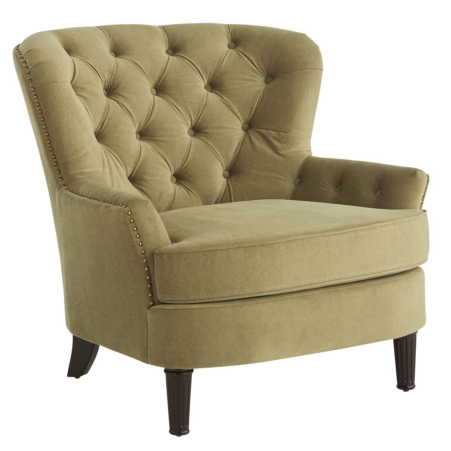 Green Upholstered Chair Eliza Olive Green Upholstered Armchair Products Upholstered