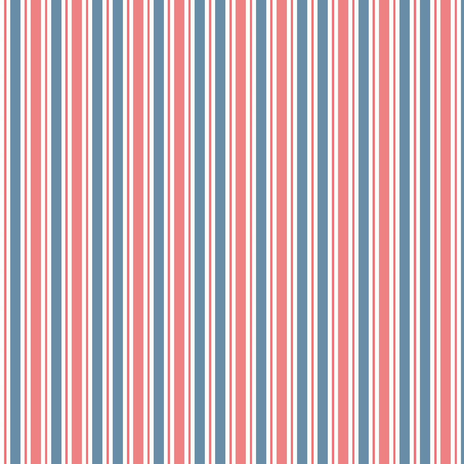 Scrapbook paper download - Red White And Blue Stripes Free Digital Scrapbook Paper Download