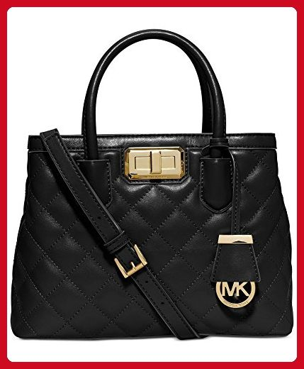 934f06eaac05 Michael Kors Hannah Small Satchel Black - Top handle bags ( Amazon  Partner-Link)