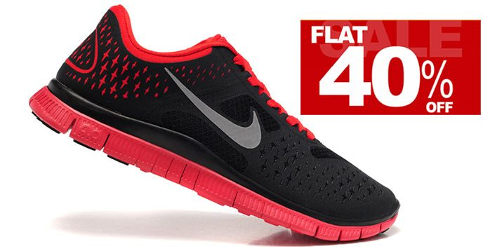 Get Nike Shoes at Flat 40% Discount